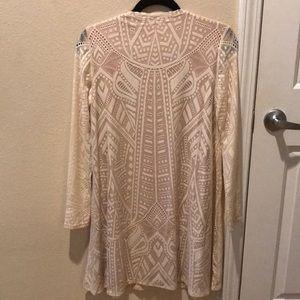 9dd9d9960a BCBGMaxAzria Dresses - BCBG Natyly Long-Sleeve Lace Dress